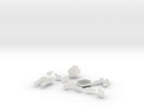Wildcat (OmniMech) in Smooth Fine Detail Plastic