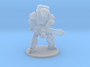 Halo Reach Spartan Heavy miniature games and rpg in Smooth Fine Detail Plastic