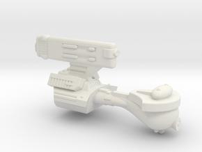 3788 Scale Romulan KE5 Escort WEM in White Natural Versatile Plastic