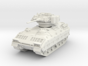M3A1 Bradley (TOW retracted) 1/56 in White Natural Versatile Plastic