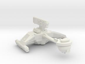 3125 Scale Romulan KE7 Medium Cruiser WEM in White Natural Versatile Plastic