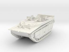 LVT-4 (MG flat shield) 1/76 in White Natural Versatile Plastic