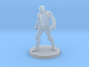 Animated Armor in Smooth Fine Detail Plastic
