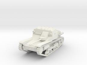 PV35A L3 Tankette w/Solothurn ATR (28mm) in White Natural Versatile Plastic