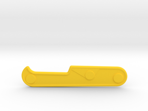 91mm Victorinox thin scale 2 in Yellow Processed Versatile Plastic