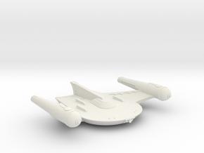 3125 Scale Romulan X-Ship King Eagle-X (KEX) MGL in White Natural Versatile Plastic