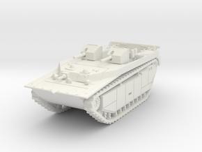 LVT-4 (MG box shield) 1/87 in White Natural Versatile Plastic