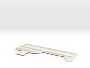 1.6 PATIN ANTI ENLISEMENT EC 145 ARRIERE GAUCHE RL in White Natural Versatile Plastic