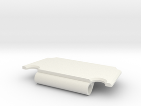 Axial Capra Fuel Cell (RX Holder): Rear Frame Brac in White Natural Versatile Plastic