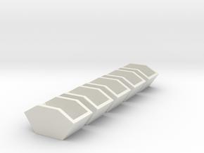 5x Construction waste trough - Bauschutt-Mulde  in White Natural Versatile Plastic