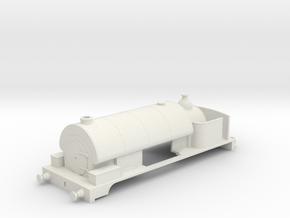 low profile industrial loco in White Natural Versatile Plastic