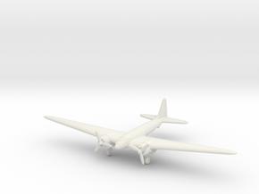1/285 (6mm) Tachikawa Ki-77 in White Natural Versatile Plastic