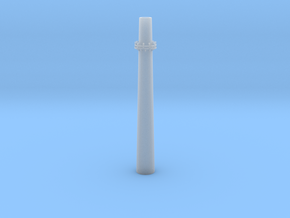 Industrial Smoke Stack 1/200 in Smooth Fine Detail Plastic