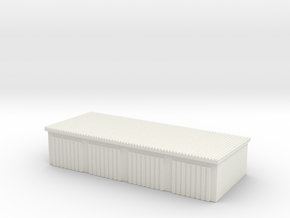 4 Slots Garage 1/144 in White Natural Versatile Plastic