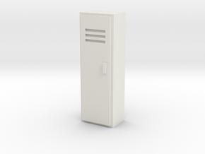 Locker 1/48 in White Natural Versatile Plastic