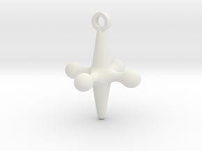 Cosplay Charm - Jacks in White Natural Versatile Plastic
