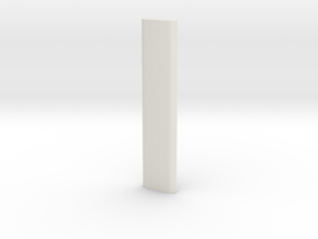 Speech Therapy Tool for TH Sound Popsicle Stick in White Natural Versatile Plastic
