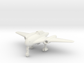 (1:144 what-if) Messerschmitt Me334 Crescent wing in White Natural Versatile Plastic