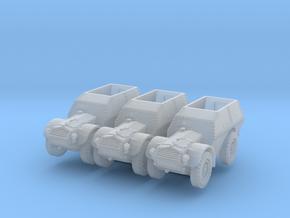Autocarro Protetto (x3) 1/200 in Smooth Fine Detail Plastic