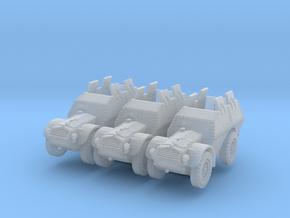 Autocarro Protetto (shields) (x3) 1/220 in Smooth Fine Detail Plastic