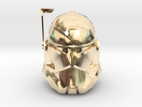 Commander Wollfe | CCBS Scale in 14k Gold Plated Brass