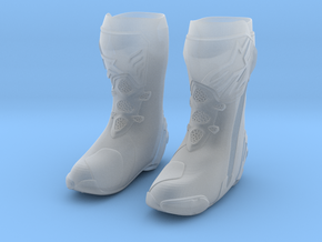 Astar motorcycle boots Small in Smooth Fine Detail Plastic