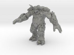 Behemoth kaiju monster miniature games rpg 55m in Gray PA12