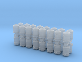 Garbage Can (x32) 1/144 in Smooth Fine Detail Plastic