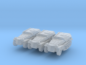 Sdkfz 253 (x3) 1/285 in Smooth Fine Detail Plastic