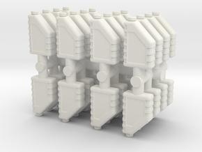 Motor Oil Bottle (x32) 1/48 in White Natural Versatile Plastic