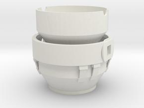Konvertergefäß in White Natural Versatile Plastic
