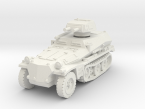 Sdkfz 253 with Pz I Turret 1/56 in White Natural Versatile Plastic