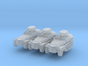 Sdkfz 253 with Pz I Turret (x3) 1/285 in Smooth Fine Detail Plastic