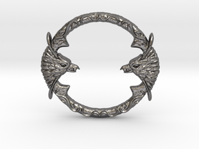 Resident Evil 0: Silver ring in Polished Nickel Steel