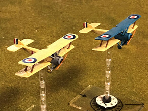 Sopwith 1-1/2 Strutter (one-seater, various scales in Gray PA12: 1:144