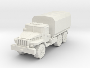 Ural-375 1/144 in White Natural Versatile Plastic