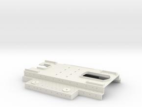 1/350 Bourgogne (1943) Upper Decks (w/out Shields) in White Natural Versatile Plastic