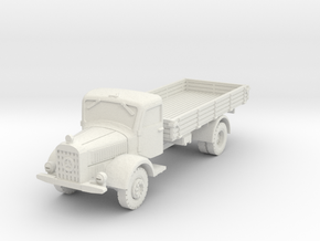 Mercedes L4500 A 1/56 in White Natural Versatile Plastic