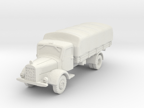 Mercedes L4500 A (covered) 1/76 in White Natural Versatile Plastic