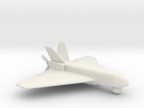 UAV Sperwer Type A - Scale 1:72 in White Natural Versatile Plastic