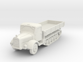 Mercedes L4500 R early 1/72 in White Natural Versatile Plastic