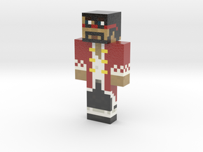 Atomic_Formula | Minecraft toy in Glossy Full Color Sandstone