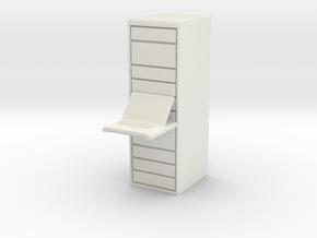 Computer Server 1/48 in White Natural Versatile Plastic