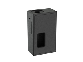 Mechanical Squonker (Squared Version) in Black Natural Versatile Plastic