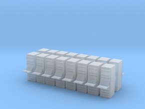 Computer Server (x16) 1/285 in Smooth Fine Detail Plastic