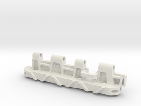 1/16 Tiger 1 late track link in White Natural Versatile Plastic