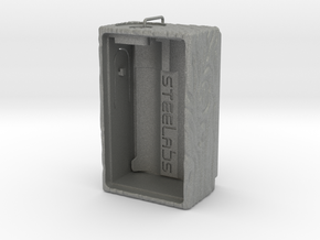 Mechanical Squonker (Wood pattern Version) in Gray PA12