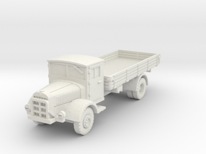 Mercedes L4500 S 1/87 in White Natural Versatile Plastic