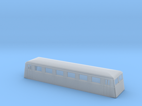 Swedish wagon for railcar UCo1 N-scale in Smooth Fine Detail Plastic
