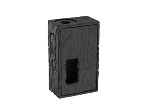 Mechanical Squonker (Wood pattern Version) in Black Natural Versatile Plastic